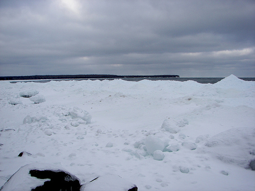 Lake Superior, Winter 2010
