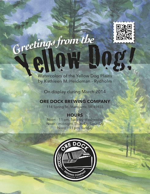 POSTER-yellowdog-OreDock-March